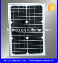 factory direct 20w 12v solar panel price per watt solar panels
