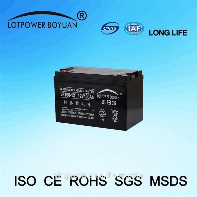 sealed rechargeable battery 6v4ah The most perfect deep cycle battery for motorcycles 12v 100ah high quality battery
