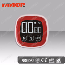 GOOD QUALITY TOUCH SCREEN KITCHEN TIMER ET643