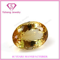 Oval Brilliant Cut Fire Yellow Topaz Citrine Stone Price