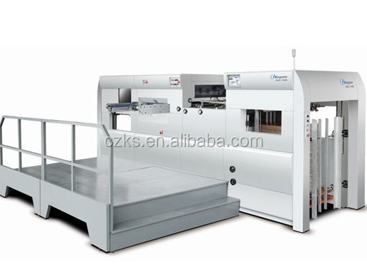 Keshun1300 colorful paper flat bed die cutting machine
