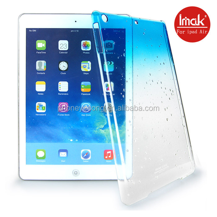 For Apple tablet case/hot selling transparent case for ipad air