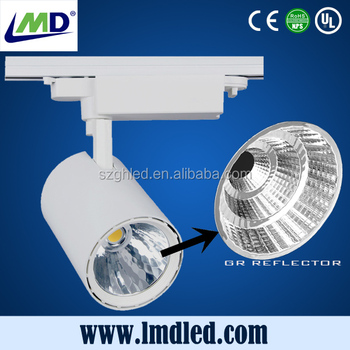 China best selling high brightness high luminous 30w track light