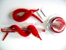 Educational Toy Magic Tricks Red Color Twisty Worm