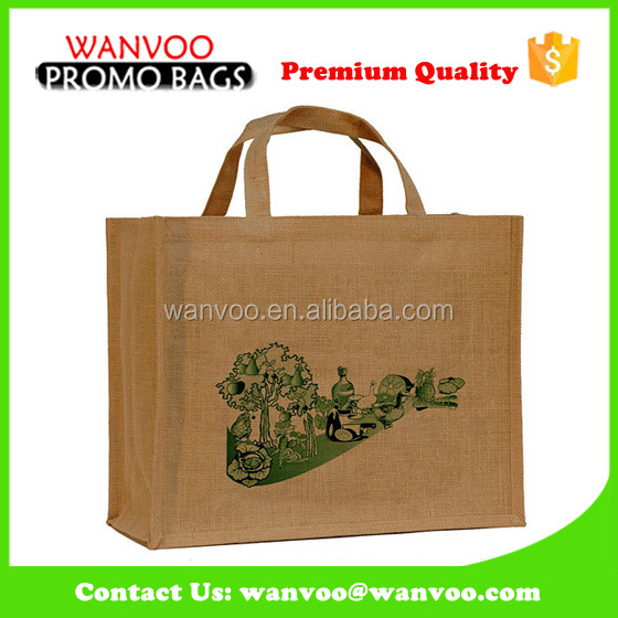 Eco Friendly Natural Jute Hessian Fruit Picking Bags