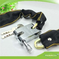 low price door safety ring connected lock security bike chain locks