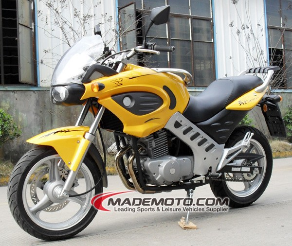 Gas Powered 12V 9AH 250cc Chinese Motorcycle for Sale(YY250-5A)