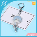 OEM Vograce Acrylic Charms Custom Printed Clear/Transparent Acrylic Keychain Creative Keyring For Wholesale