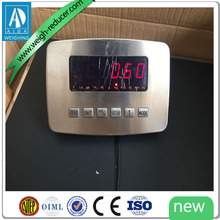 Stainless steel waterproof digital LED LCD platform scale indicator weighing