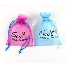 Newest sale different styles gold china supplier jewelry pouch organza bags