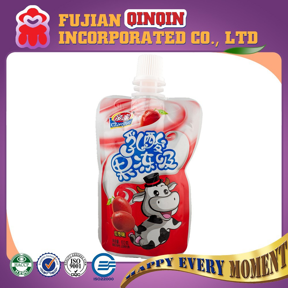 OEM instant red dates flavor yogurt fruit juice Jelly drink