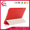 red color case smart cover for ipad mini 4 PU folding sleeve Newest pad protective