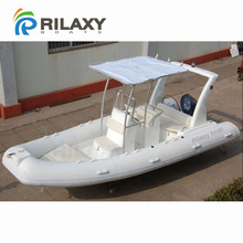 RILAXY 5.8m rigid hull inflatable boat with outboard motor for sale