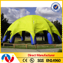 Newest Special PVC Tarpaulin Spider Dome Inflatable Advertising Tent Wholesale
