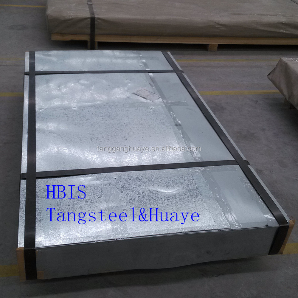 DX51D SGCC galvanized steel sheet and plate