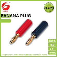 High Quality Banana Plugs for Speaker Wire Screw Design