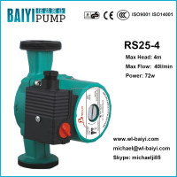 silent hot water circulation pump, boiler water circulation pumps, pump RS25/4-180