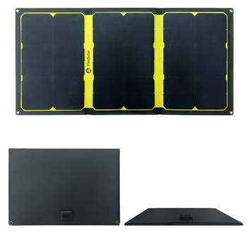 Flexsolar  57W Foldable Solar Panel Portable Solar Battery Charger For Phone Battery Dual USB Port Outdoor