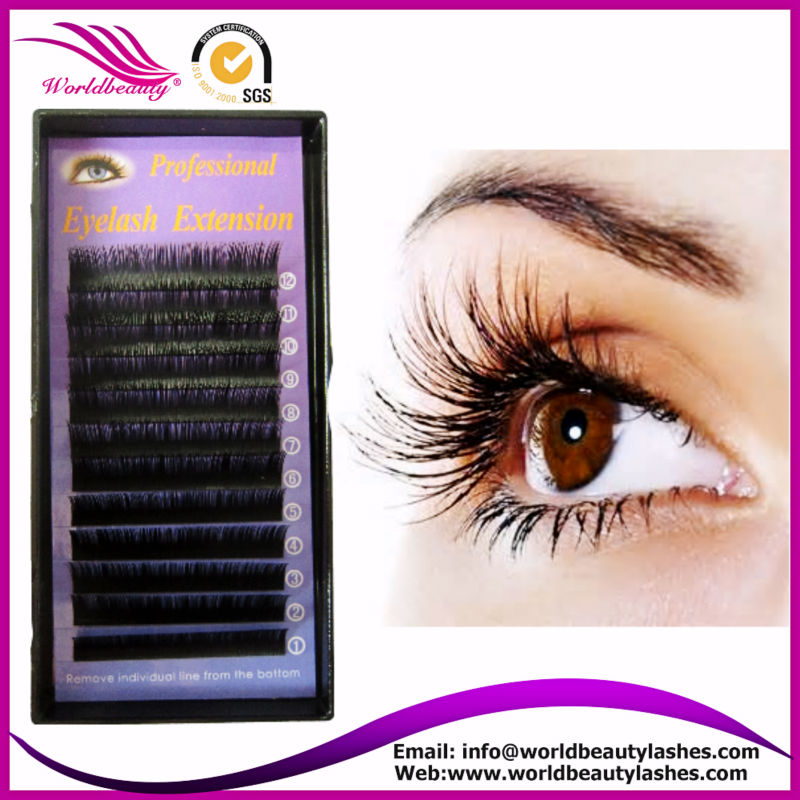 2015 new 0.05mm 0.06mm 0.07mm 3D/6D fiber eye lashes