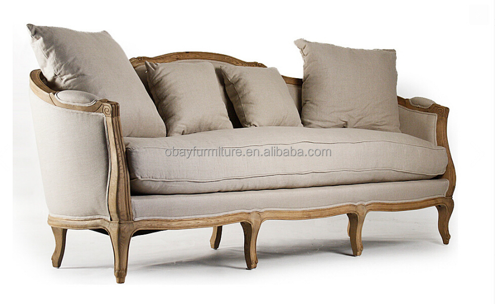 Granja house sof de estilo franc s del pa s cl sico sof for Sofas estilo clasico