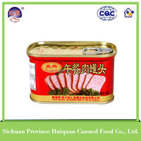 Trustworthy china supplier canned meat/340g canned pork luncheon meat