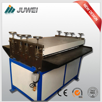 Sheet metal plate leveler grooving machine/pipe making equipment