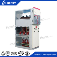 XGN15-24(HVS6) (RMU) indoor high voltage sf6 gas insulated switchgear with circuit breaker (AIS)