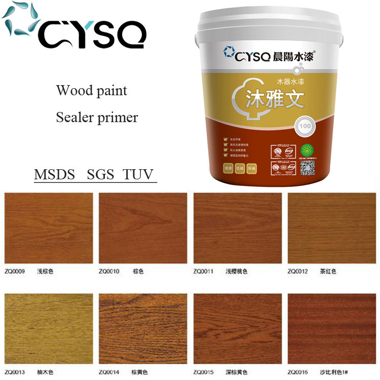 Fireproof water based primer sealer undercoat for wood