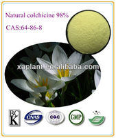 100% Natural plant extract 98% colchicine