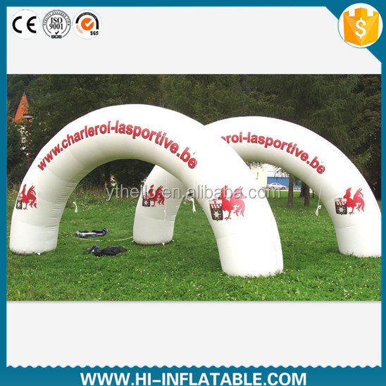 inflatable arch decorations air lighting cone