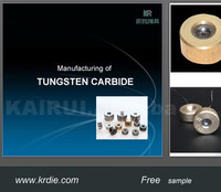 solid carbide dies yg8/yg6 tungsten carbide drawing die for stretching non-ferrous wire in competitve price