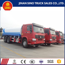 sinotruk factory with best price sales howo 20m3 Water tank truck 6x4