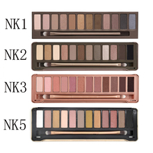 2017 Makeup Eyeshadow Palette 12 Colors Naked Palette Eye Shadow QQQ