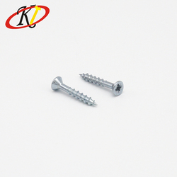 Chinese manufacturer Oukailuo Pozidrive Flat/CSK Head Zinc Plated Chipboard Screws