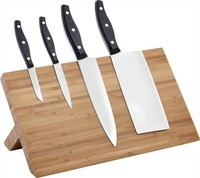 Wholesale Popular items Wall-Mount Strong wooden magnetic knife strips