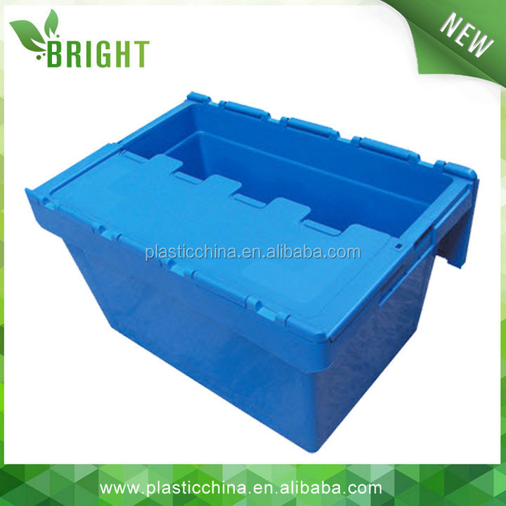 2015 HOT sale plastic logistic heavy duty storage bins