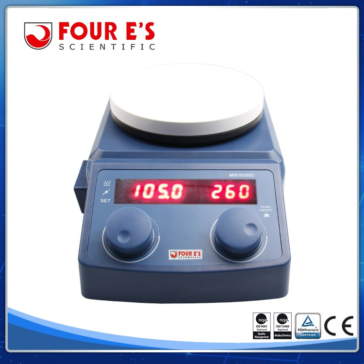 Good High Performance Best Quality HotPlate Heating Magnetic Stirrer Lab Machine