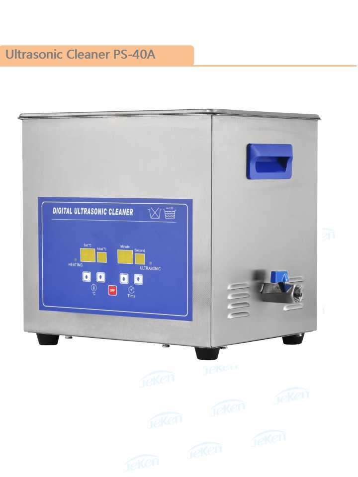 Jeken 10L Digital stainless steel Ultrasonic cleaning machine