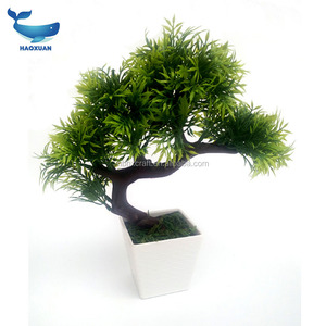 MZC0052 HAOXUAN potted mini artificial plant in shape of ball/star/heart for home decorations / garden decorations