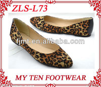 Sexy Leopard Women Closed Shoes