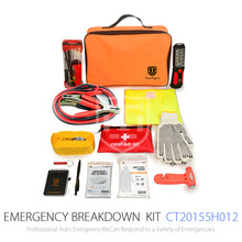 Roadside Repair Set Of Emergency Car Kit For 80pcs Safety Tool With Printing Logo