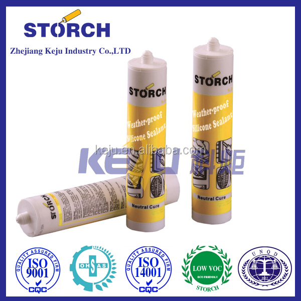 Acetic general purpose silicone sealant Excellent adhesion to most common building substrates