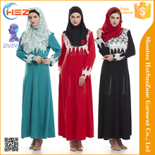 Zakiyyah-MD829 Hot sale 2016 ladies cotton abaya lahore wholesale summer clothes for muslim women abaya models dubai