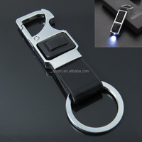 2015 promotional LED light car compass keychain