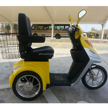 Three wheels electric mobility scooter battery powered tricycle