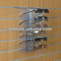 Wholesale acrylic slatwall sunglass display rack