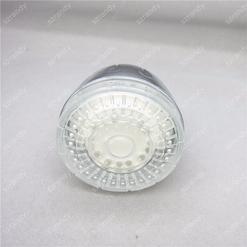 temperature sensor 3 colors head shower LD8010-A6