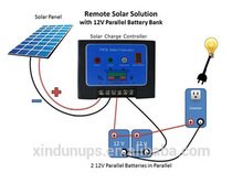 Best design & good price PWM Solar Charge Auto Controller 10A 12V/24V with time and light control