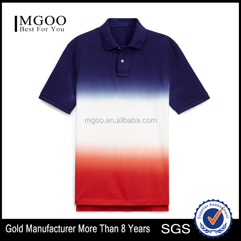 Dyed Plain Style Polo Customize Simple Style Knitted Short Sleeve Mens Top 100 Breathable Pure Cotton Polo
