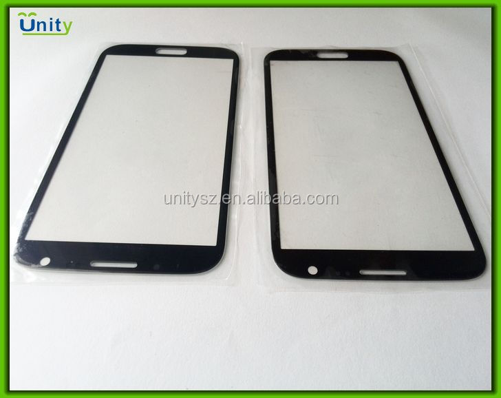 China professional supplier outer glass lens screen for Samsung Note2 N7100